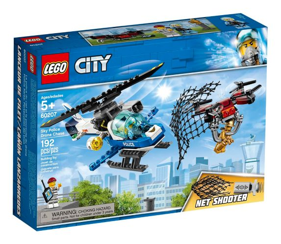 LEGO® City Sky Police Drone Chase - 60207 Product image