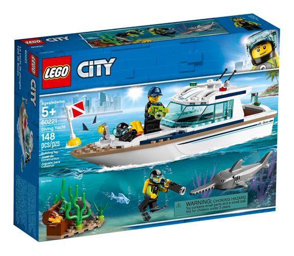 Le yacht de plongée LEGO City - 60221