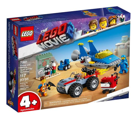 LEGO® The LEGO® Movie 2 Emmet and Benny's 'Build and Fix' Workshop - 70821 Product image