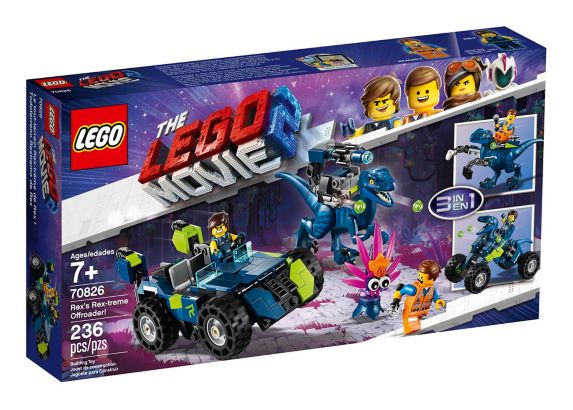 LEGO® The LEGO® Movie 2 Rex's Rex-treme Offroader! - 70826 Product image