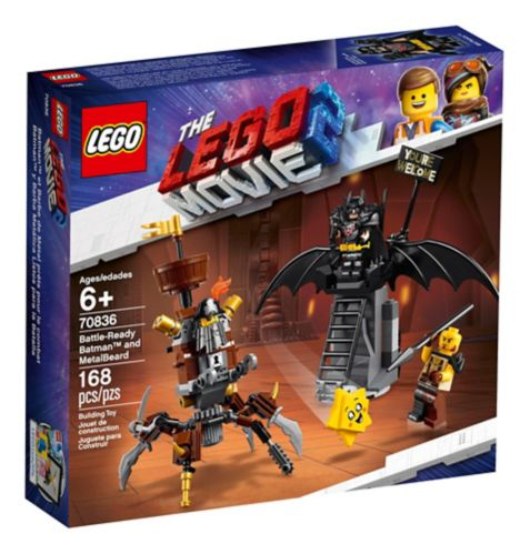 LEGO® The LEGO® Movie 2 Battle-Ready Batman™ and MetalBeard - 70836