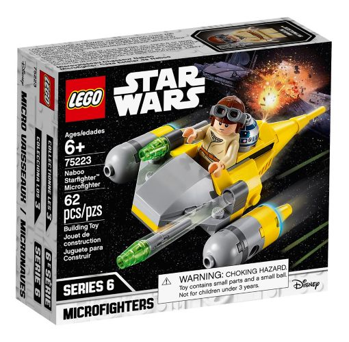 LEGO® Star Wars Naboo Starfighter Microfighter - 75223 Product image