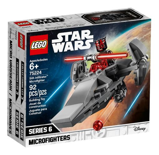 LEGO® Star Wars Sith Infiltrator™ Microfighter - 75224 Product image