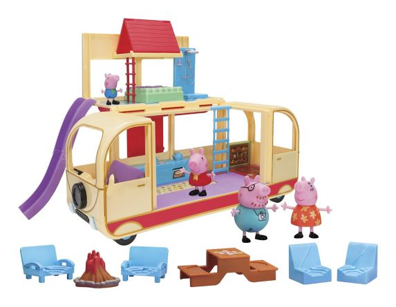 Autocaravane transformable Peppa Pig