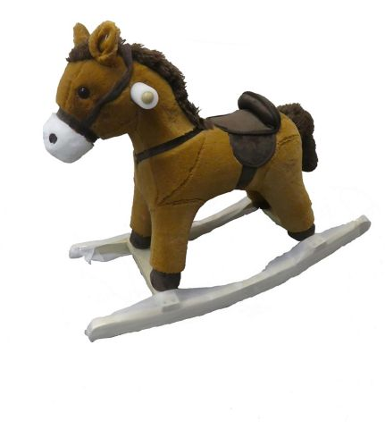 Plush Rocking Animals with Sound, Assorted, 25.5-in Product image