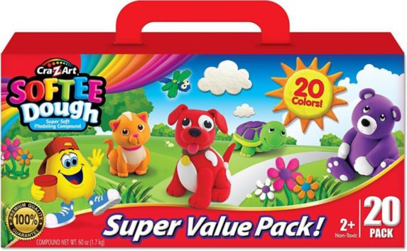 Cra-Z-Art Softee Dough Super Value, 20-ok Product image