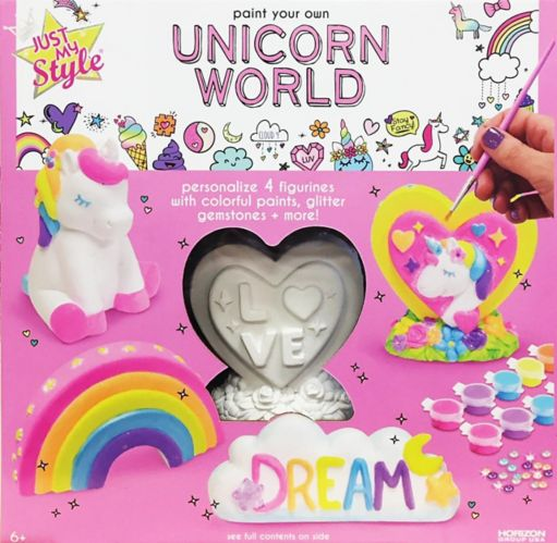Just My Style Paint Your Own Unicorn World Set Product image