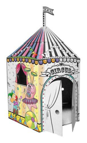 Tente de cirque en carton pour enfants Image de l'article