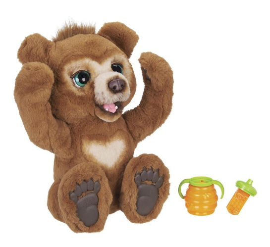 furReal Cubby, the Curious Bear Interactive Plush Toy Product image