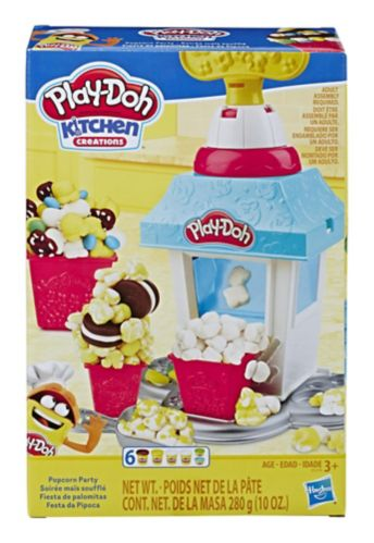Play-Doh Kitchen Creations Popcorn Party Play Food Set Product image