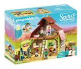 PLAYMOBIL Spirit Riding Free Barn with Lucky, Pru & Abigail | PLAYMOBILnull