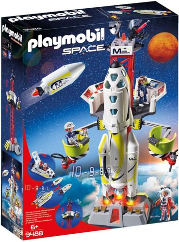 PLAYMOBIL Space Mission Rocket with Launch Site Product image