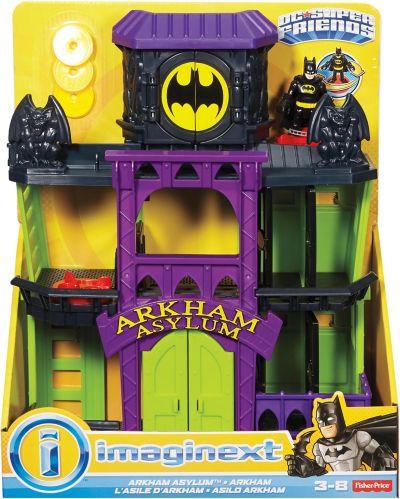 Coffret de jeu Arkham Asylum Imaginext DC Super Friends Image de l'article