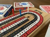 Wooden Cribbage Board   Bicyclenull