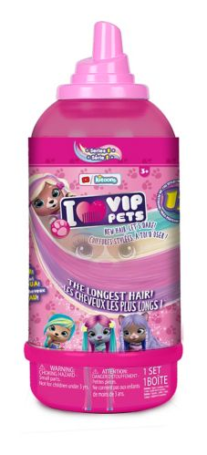 VIP Pets Surprise Hair Reveal Doll, Assorted