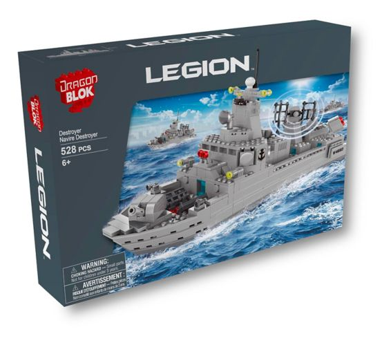 Dragon Blok Legion Destroyer Building Set Product image