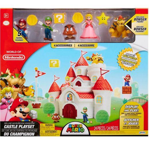 Nintendo Super Mario Mushroom Kingdom Castle Playset with Figures Product image
