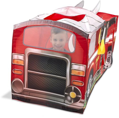 Playhut® Fire Truck Rescue Pop-Up Play Tent