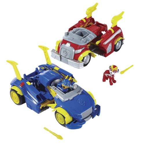 PAW Patrol Power Changing Vehicles, Assorted Product image
