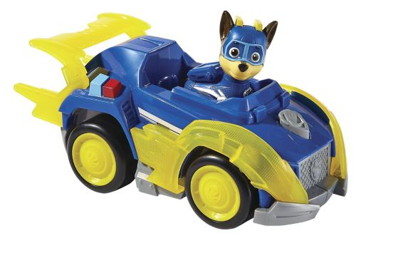 PAW Patrol Mighty Pups Themed Vehicles, Assorted