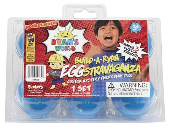 Ryan's World EGGstravaganza Mystery Figure Play Pack Set Product image