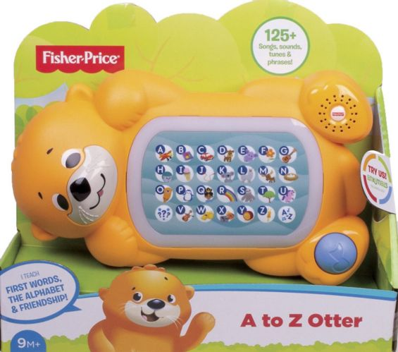 Fisher-Price® Linkimals™ A to Z Otter, French