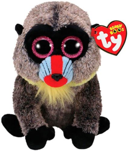 Ty Beanie Boos Regular Plush, Jungle, Assorted Product image