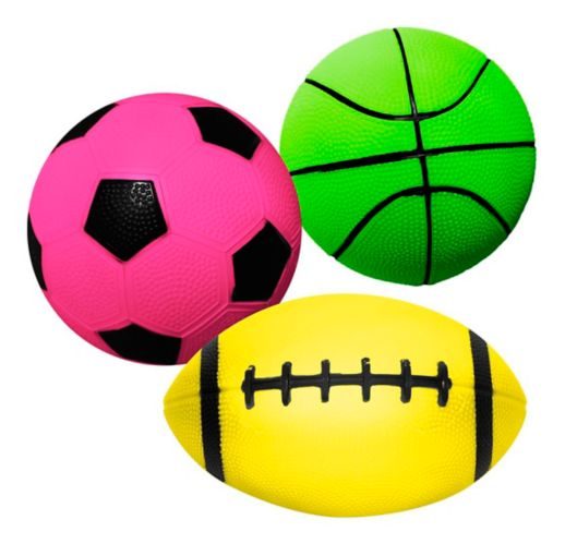 Hedstrom Vinyl Neon Sports Ball, Assorted Product image