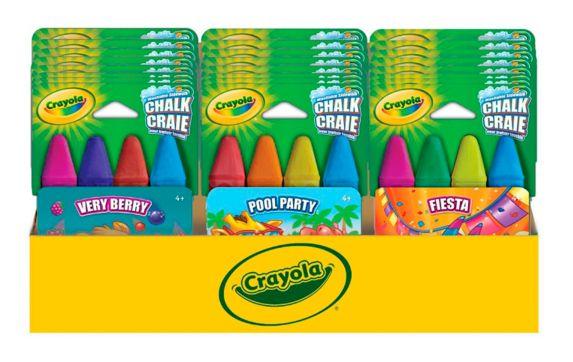 Crayola Themed Sidewalk \Chalk Product image