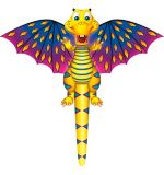 XKites Fantasy Fliers Nylon Kite, Assorted, 42-in