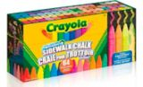Crayola Washable Sidewalk Chalk, 64-pk | Crayolanull