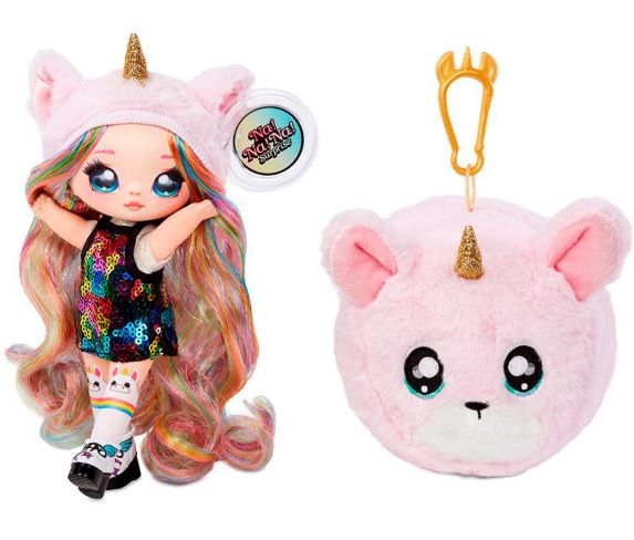 Na! Na! Na! Surprise™ 2-in-1 Fashion Dolls & Plush Pom Product image