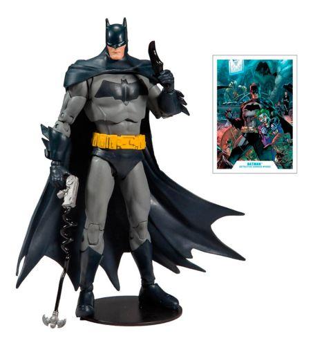 McFarlane DC Multiverse Batman Action Figures - Batman Hellbat Suit or Batman Detective, 7-in Product image