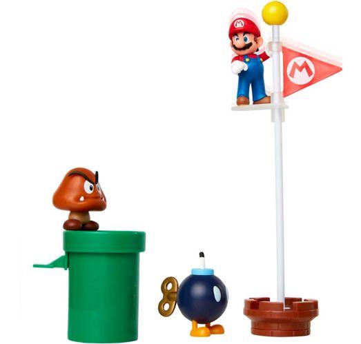 Nintendo Super Mario Diorama Set, Assorted, 2.5-in Product image