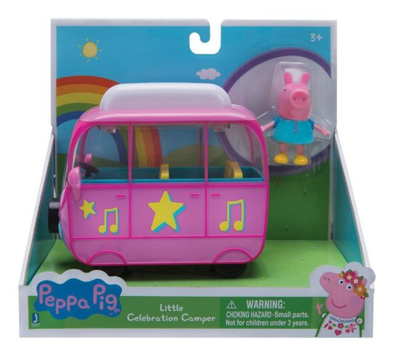 Peppa Pig Little Vehicles Campervan, Assorted