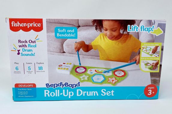 Fisher-Price® Roll-Up Drum Set
