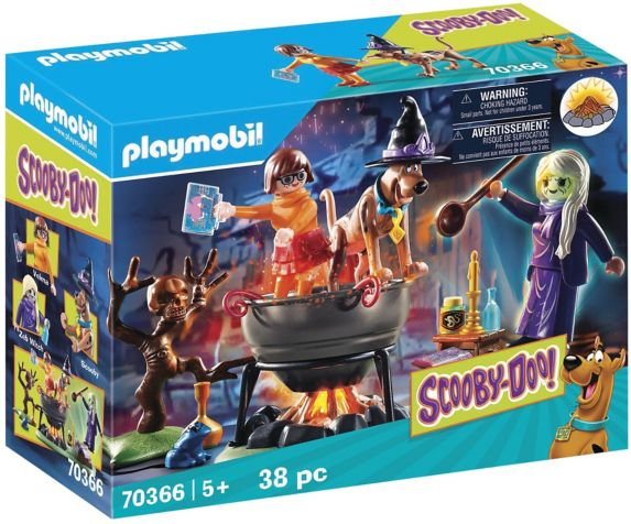 PLAYMOBIL Scooby-DOO! Adventure in the Witch's Cauldron Product image