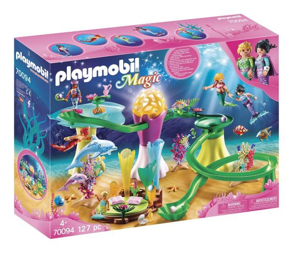 PLAYMOBIL Magic Mermaid Cove with Illuminated Dome Product image