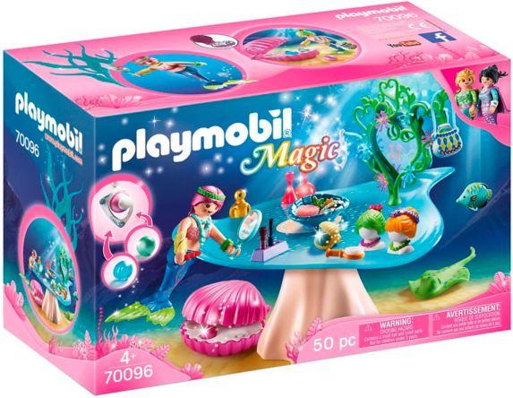 PLAYMOBIL Magic: Mermaid Beauty Salon with Jewel Case Product image