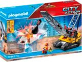 PLAYMOBIL City Action Cable Excavator with Building Section | PLAYMOBILnull