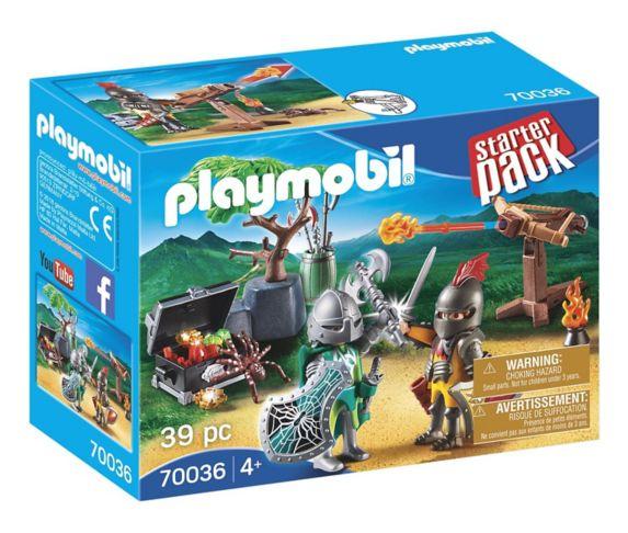 PLAYMOBIL StarterPack Kayak Adventure or Starter Pack Knight's Treasure Battle, Assorted Product image