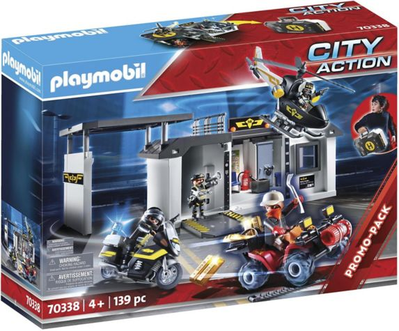 PLAYMOBIL City Action Take Along Tactical Unit Headquarters Product image