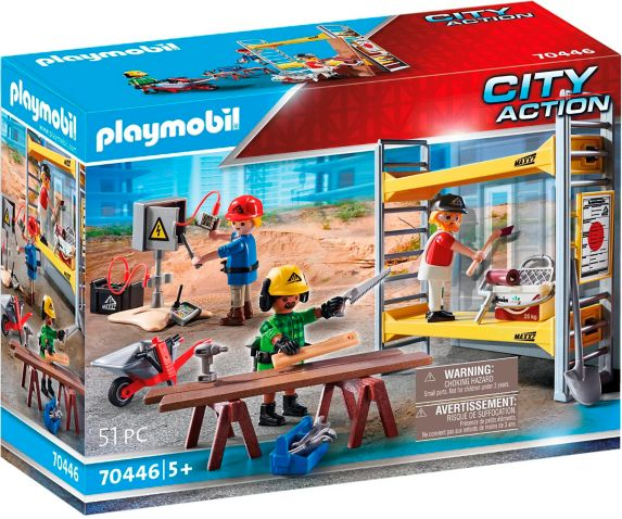 PLAYMOBIL City Action Construction Scaffolding with Workers Product image