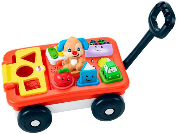 Fisher-Price® Laugh & Learn™ Pull & Play Learning Wagon Product image