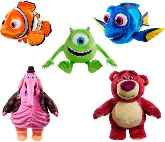 Disney Pixar Plush Figures, Assorted