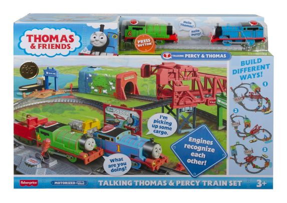 Fisher-Price® Thomas & Friends™ Talking Thomas & Percy Train Set Product image