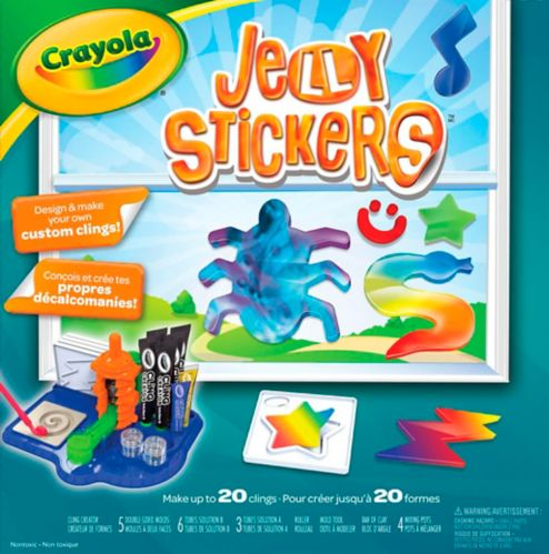 Crayola Jelly Stickers Product image