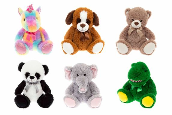 Small Plush Stuffed Animal, Assorted Product image