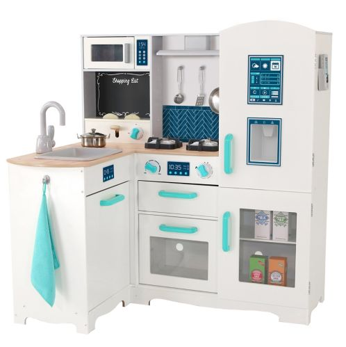 Deluxe Electronic Play Kitchen