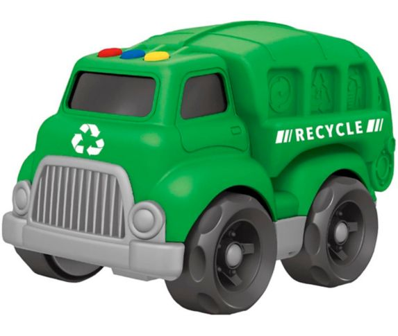 Lights & Sounds Preschool Toy Vehicle, Assorted Product image